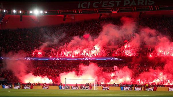 La UEFA le pasa la factura de las bengalas al PSG