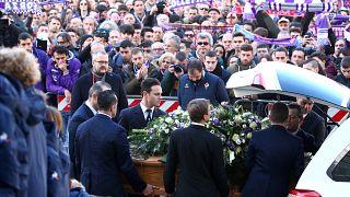 L'hommage de l'Italie à Davide Astori