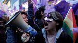 Protest der Frauen in Istanbul - 5 Bilder
