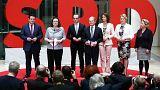 Almanya: Sosyal Demokratların bakanları belli oldu