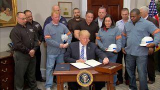 International condemnation over Trump trade tariffs