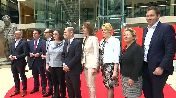 Germania, presentata la lista dei ministri dell'Spd