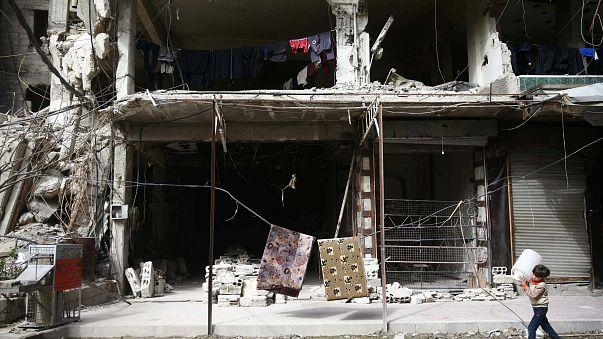 Il dramma dei bambini nella Ghouta