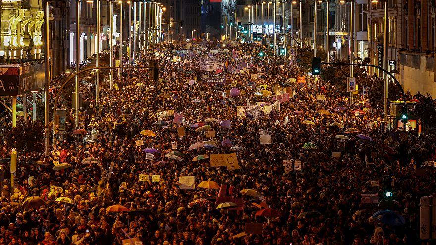 Manifestantes em Espanha atingiram os 6 milhões