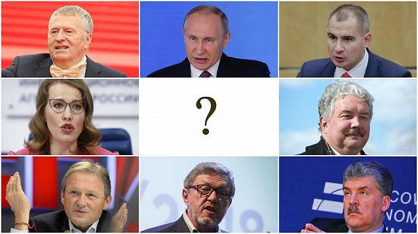 Presidenciais russas: tudo o que precisa de saber