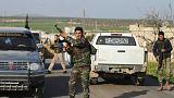 پیشروی شبه نظامیان ارتش آزاد سوریه تحت حمایت ترکیه در شمال عفرین