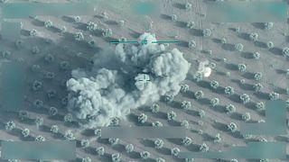 ویدئوی ارتش ترکیه؛ هدف قرار دادن دو نیروی «یپگ»