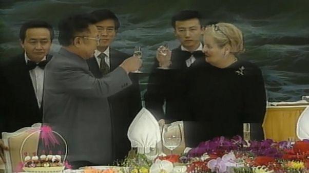 En 2000, rencontre entre Madeleine Albright et Kim Jong-il