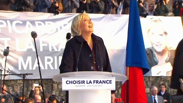 Refundar la extrema derecha, objetivo de Marine Le Pen en Lille
