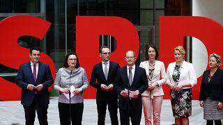 Allemagne : les ministres sociaux-démocrates