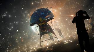 Фестиваль фейерверков в Тультепеке