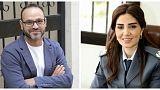 المقدم سوزان الحاج والممثل زياد عيتاني