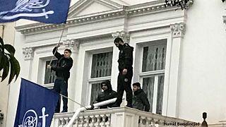 حمله چهار هوادار آیتالله شیرازی به سفارت ایران در لندن