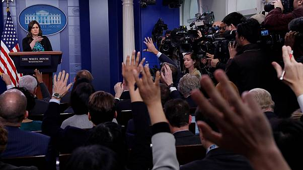 Брифинг пресс-секретаря Белого дома Сары Сандерс