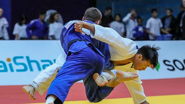 Agadir Judo Grand Prix'si: Bekir Özlü gümüş madalyayı kazandı