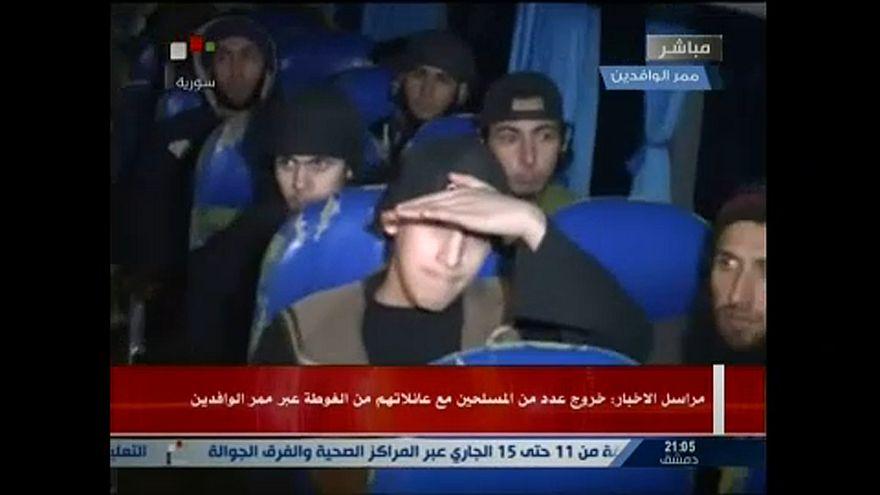 Szélsőségeseket evakuáltak Kelet-Gútából