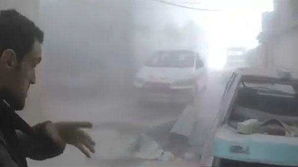 Primeiro grupo de rebeldes abandona Ghouta Oriental