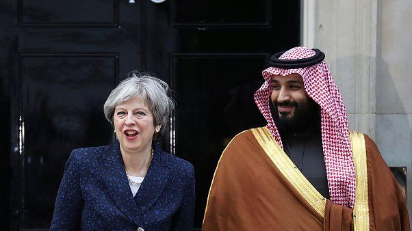 ولي العهد السعودي يبرم صفقة لشراء مقاتلات تايفون بعدة مليارات جنيهات في ختام زيارته لبريطانيا