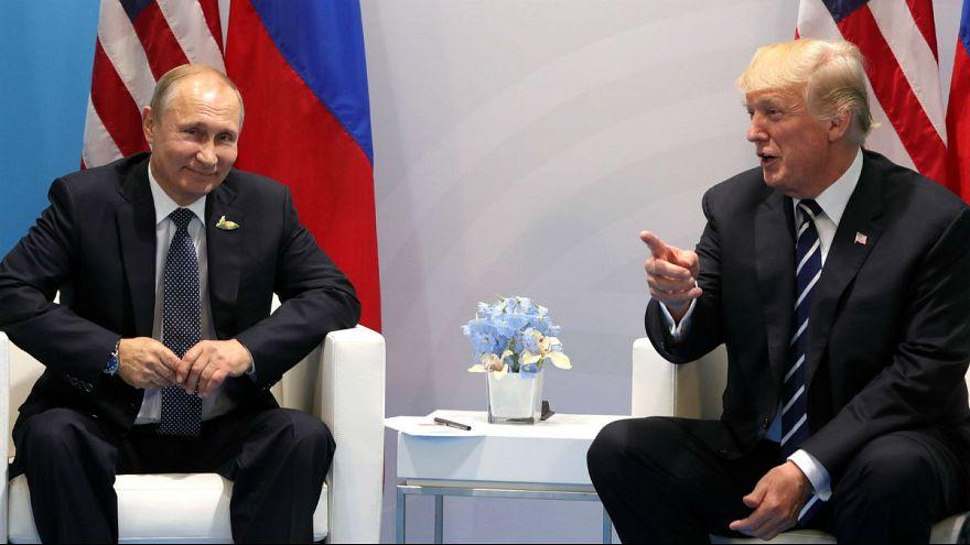 دیدار ولادیمیر پوتین و دونالد ترامپ