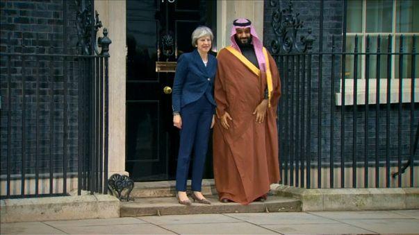 El Reino Unido y Arabia Saudí tras un acuerdo de armamento