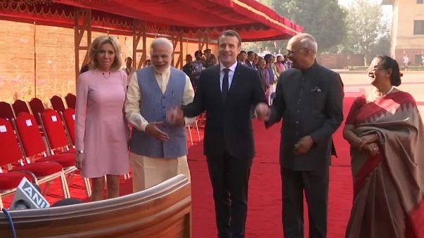 Macron quiere que Francia sea la puerta de la India en Europa