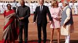 Macron zu Besuch in Indien