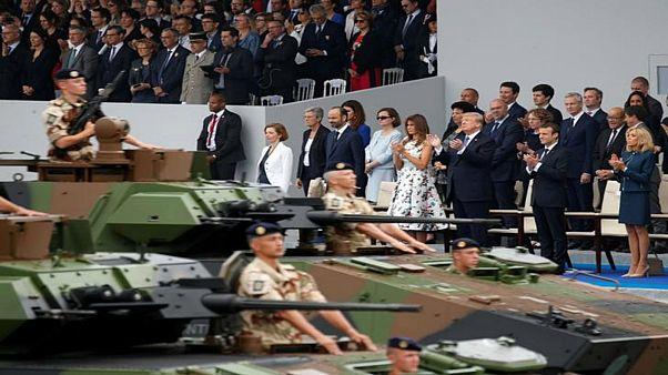 الدبابات تغيب عن عرض عسكري طلب ترامب تنظيمه في يوم المحاربين
