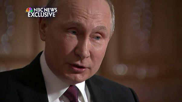 """Vladimir Putin: """"La injerencia rusa en EEUU no representa al Kremlin"""""""