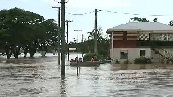 شاهد: فيضانات جارفة تجتاح أستراليا