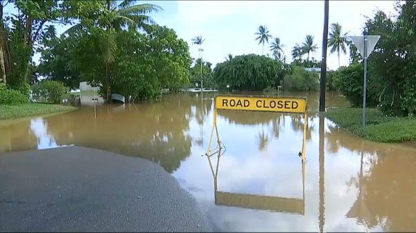 Le nord-est de l'Australie sous les eaux