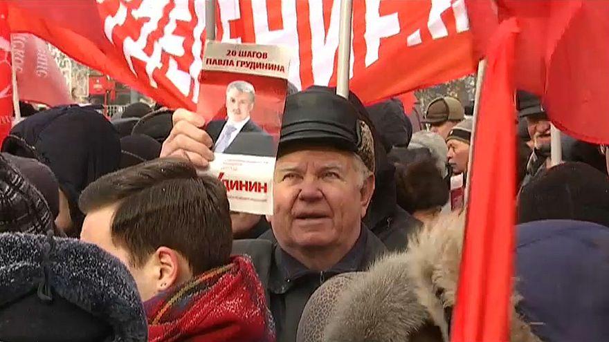 Comunistas russos querem presidenciais justas