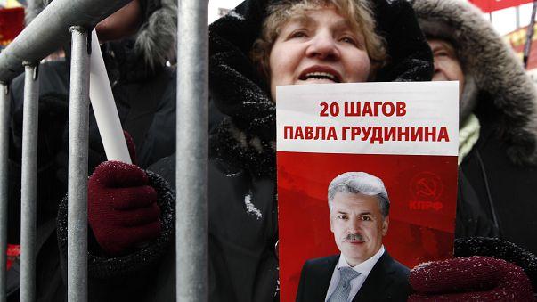 Pavel Grudinin, le nouveau visage des communistes russes