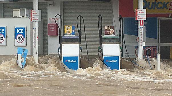 Graves inundaciones en el norte de Australia