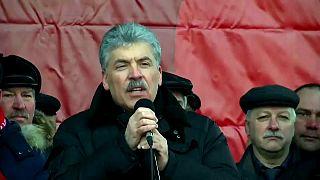 El Partido Comunista ruso a la carrera presidencial entre supuestas difamaciones