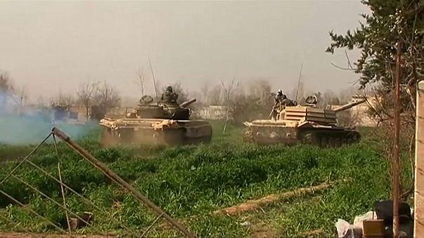 Армия Асада рассекает Восточную Гуту надвое