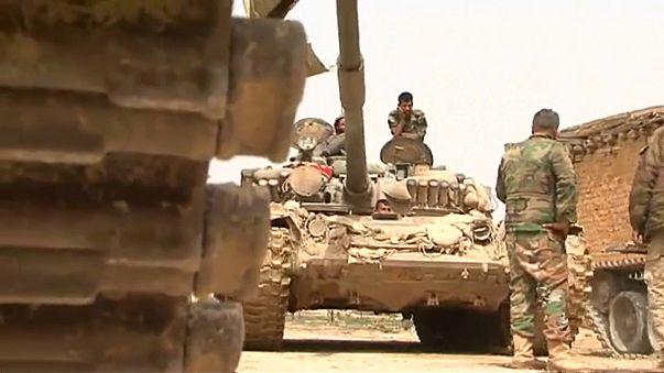 Exército sírio avança em Ghouta oriental