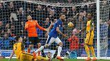 Cenk Tosun'un harika golü Everton taraftarını coşturdu