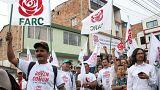 En Colombie, la difficile campagne des FARC