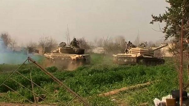 El Ejército sirio divide a las fuerzas rebeldes en Guta Oriental