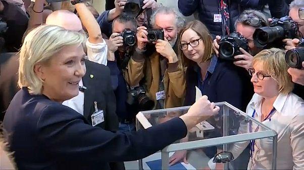Переизбрание Марин Ле Пен