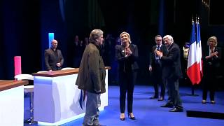France's National Front re-elects Marine Le Pen as leader