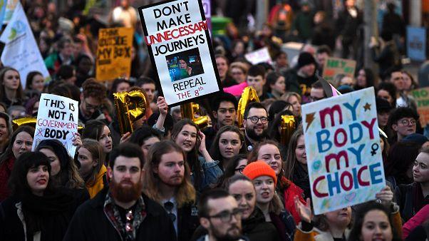 Дублин: демонстрация против абортов