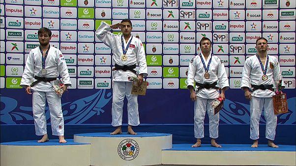 جودو؛ دو مدال طلا برای ورزشکاران ترکیه در گرند پری اگادیر