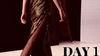 'Godfather' of Russian fashion Slava Zaitsev opens Moscow fashion week