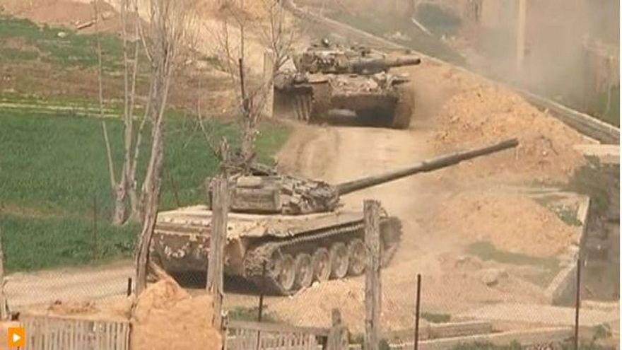 الجيش السوري يكثف هجماته ويعزل دوما عن الغوطة الشرقية