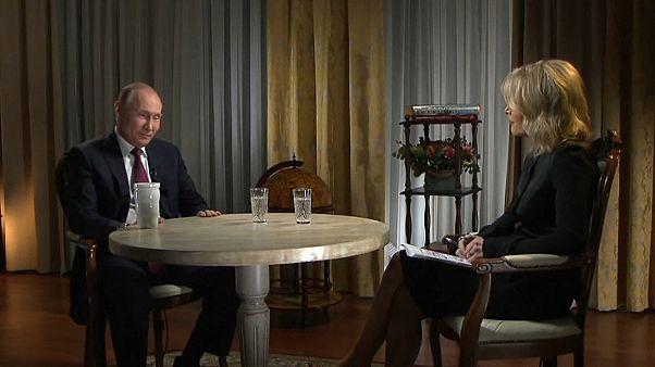"""Путин о """"списке Мюллера"""": """"Мне все равно"""""""