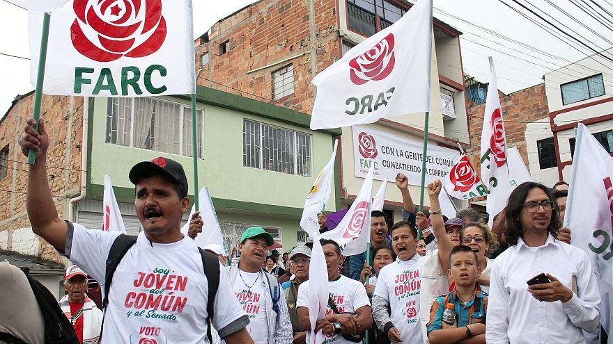 Az első kolumbiai választás a volt gerillákkal