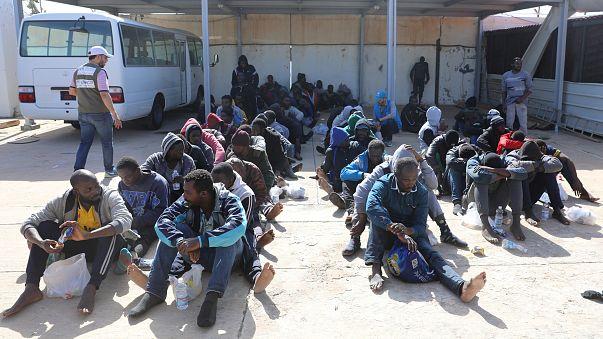Cientos de inmigrantes procedentes de Libia rescatados en el Mediterráneo
