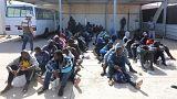 Λιβύη: Περισυλλογή εκατοντάδων μεταναστών