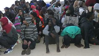 Hundreds of migrants rescued off Libya